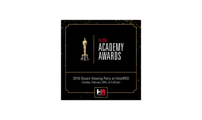 HotelRED - Oscars Party Social