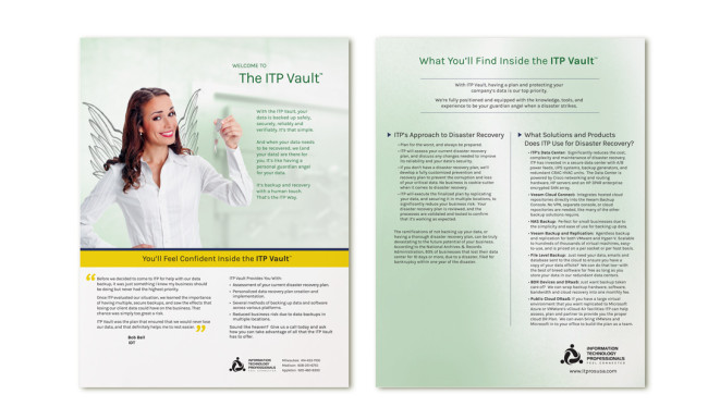 ITP Sell Sheet - ITP Vault