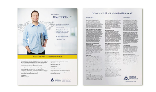 ITP Sell Sheet - ITP Cloud