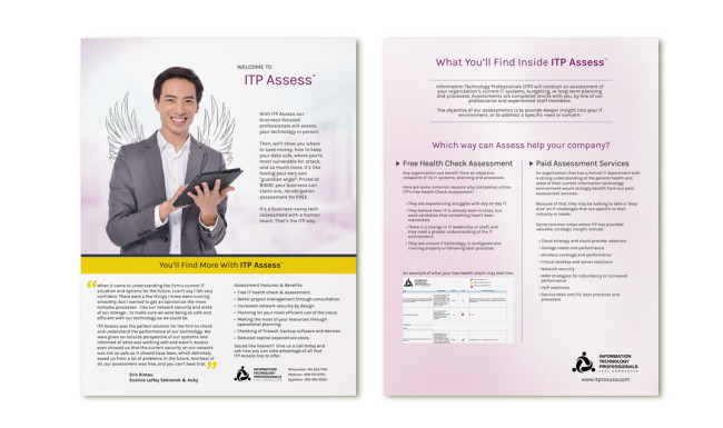 ITP Sell Sheet - ITP Assess