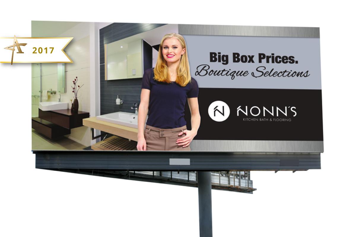 Outdoor Advertising - Nonn's 2017 Gold American Advertising Award Winner