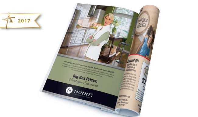 Print Advertising - Nonn's 2017 Gold American Advertising Award Winner