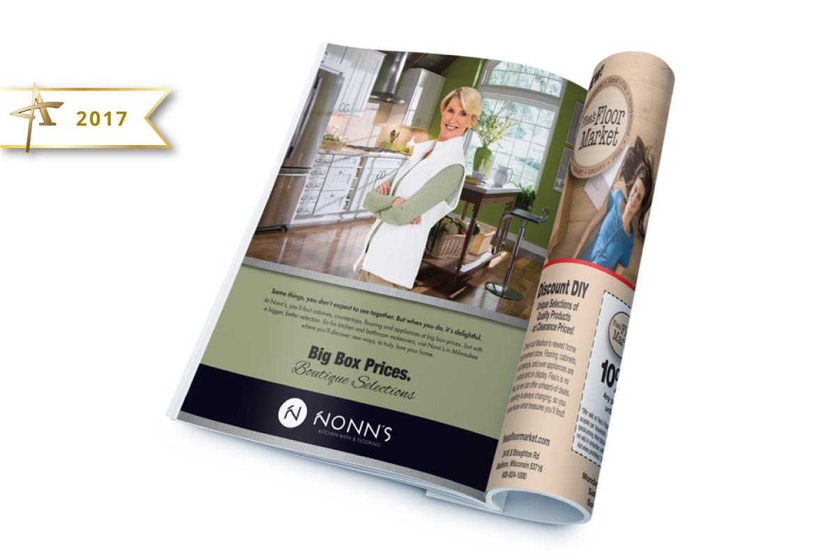 Print Advertising - Nonn's 2017 Gold American Advertising Award Winner