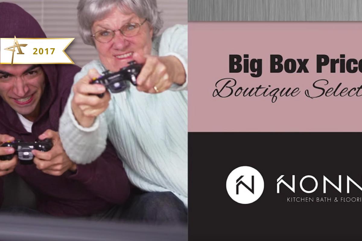 Television Advertising - Nonn's, Gaming Grandma - 2017 Gold ADDY Winner