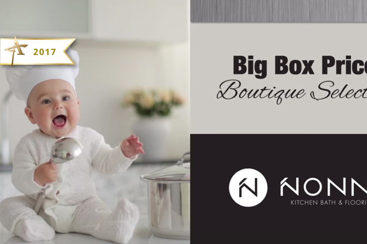 Television Advertising - Nonn's, Baby Chef - 2017 Gold ADDY Winner
