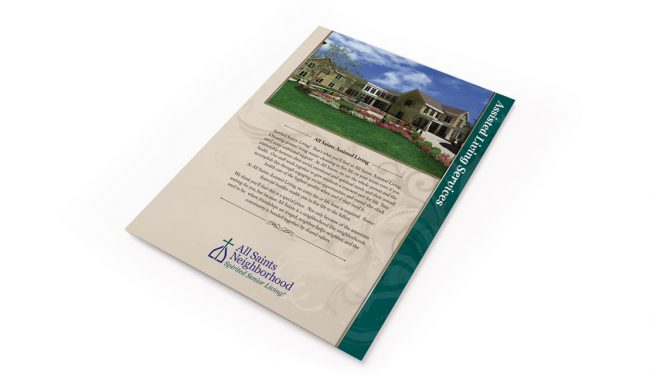 All Saints Neighborhood - Print Marketing 1