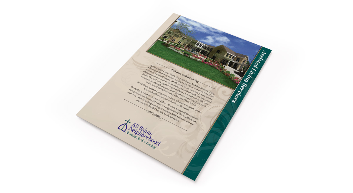All Saints Neighborhood - Print Marketing 1