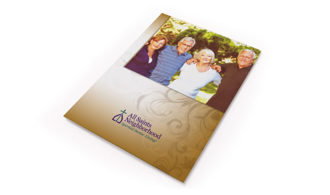 All Saints Brochure Design - 1