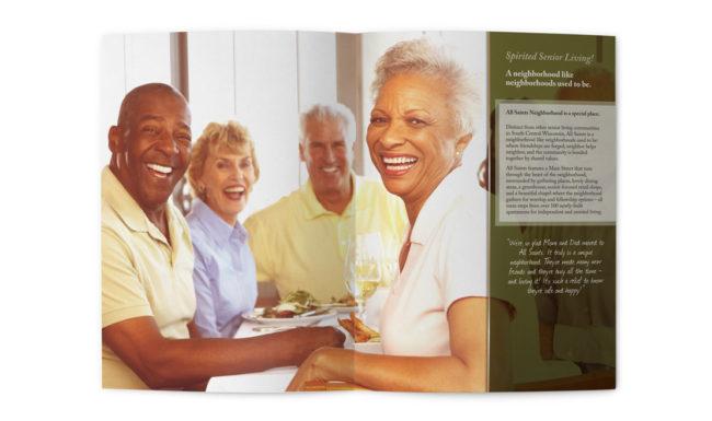 All Saints Brochure Design - 2