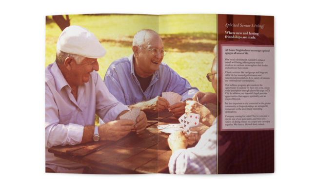 All Saints Brochure Design - 3