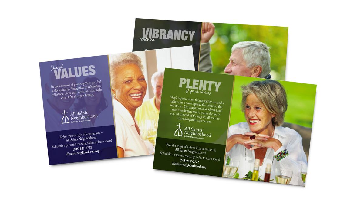 All Saints Neighborhood - Direct Mailers