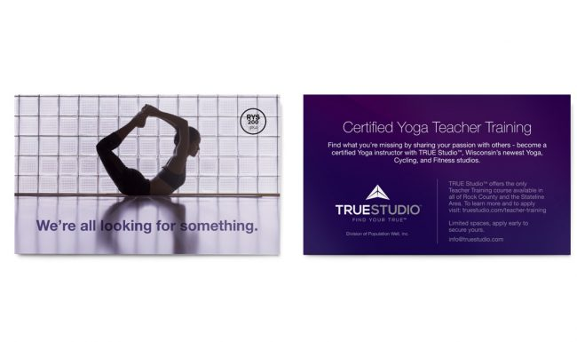 TRUE Studio - Certification Promotion Design 2