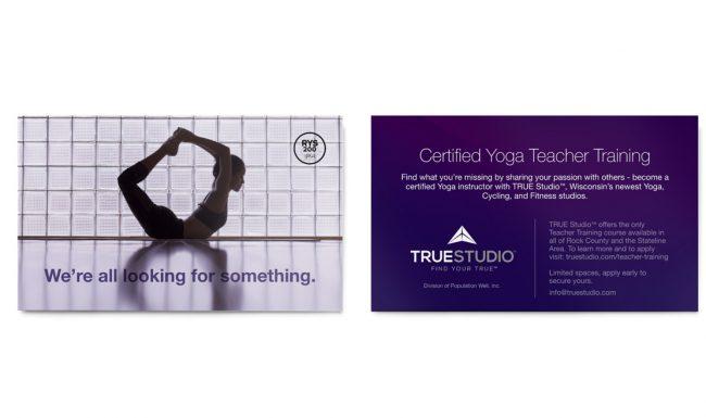 TRUE Studio - Certification Promotion Design 2