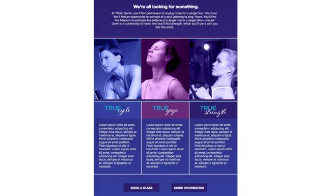 TRUE Studio - Email Marketing - Design 1