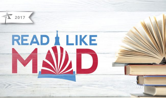 Read Like Mad, Madison WI, Logo Design - 2017 American Advertising Award Winner