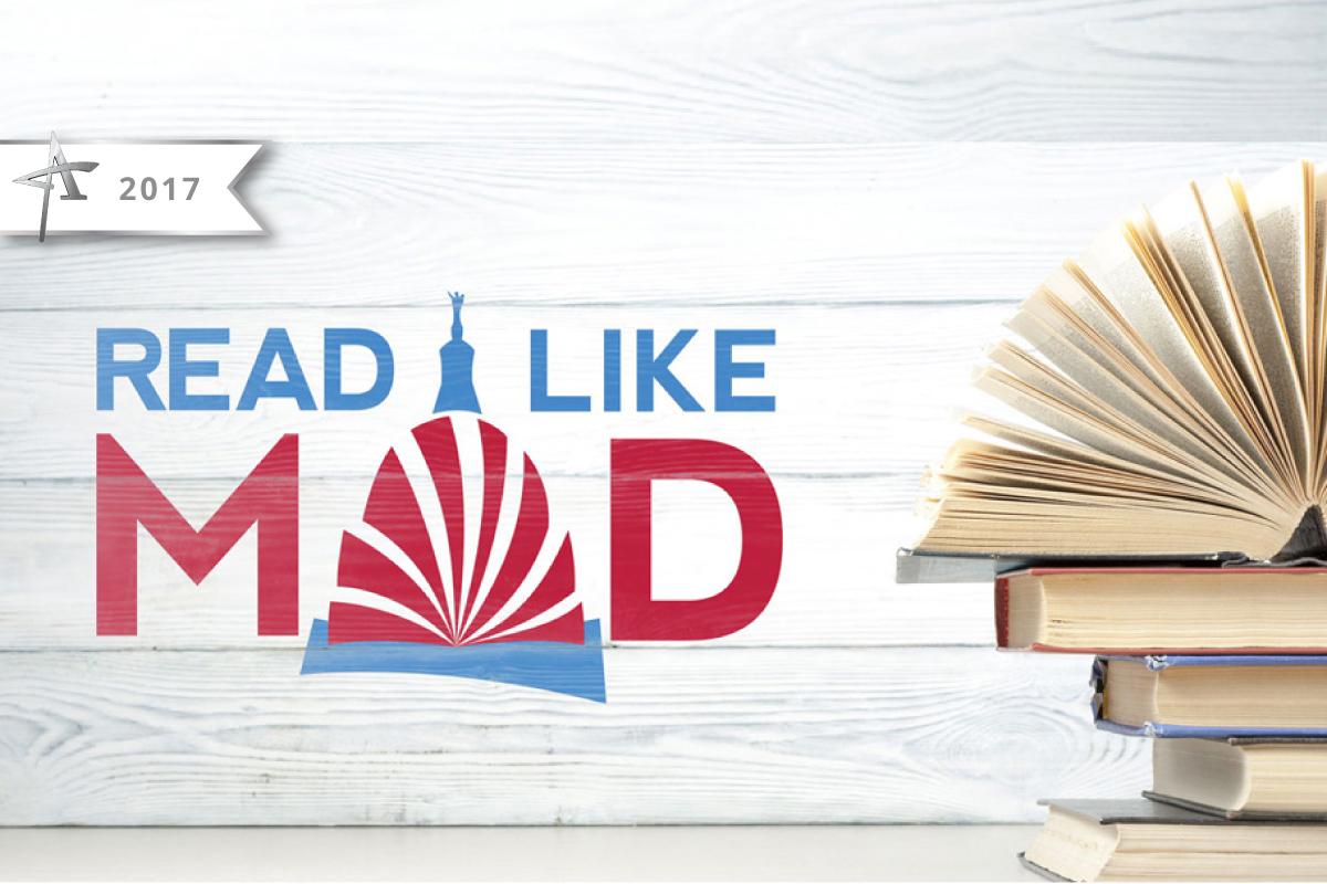 Read Like Mad, Madison WI, Logo Design - 2017 American Advertising Award Winner