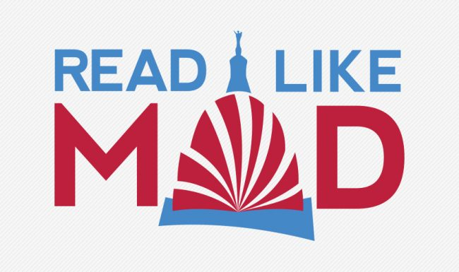 Read Like Mad, Madison WI, Color Logo