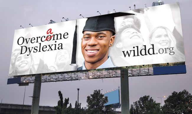 Wisconsin Institute for Learning Disabilities/Dyslexia (WILDD) Outdoor Advertising - Billboard 01