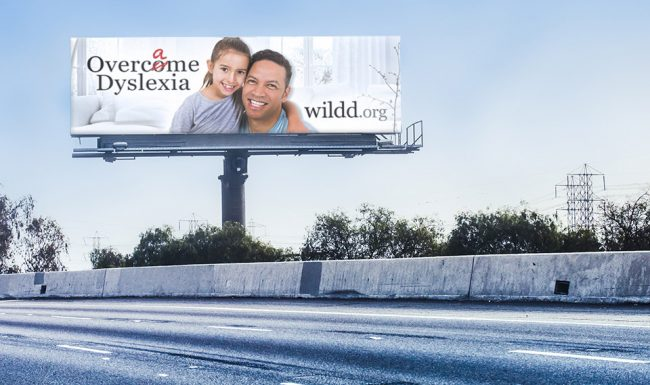 Wisconsin Institute for Learning Disabilities/Dyslexia (WILDD) Outdoor Advertising - Billboard 03