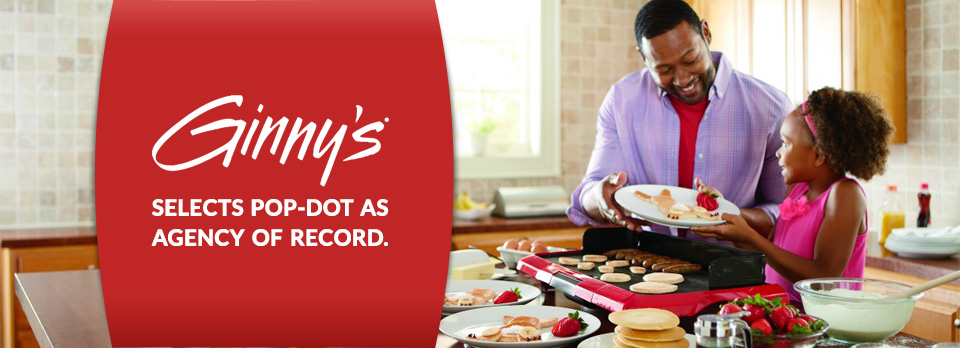 Ginny's Selects Pop-Dot as Marketing Agency of Record