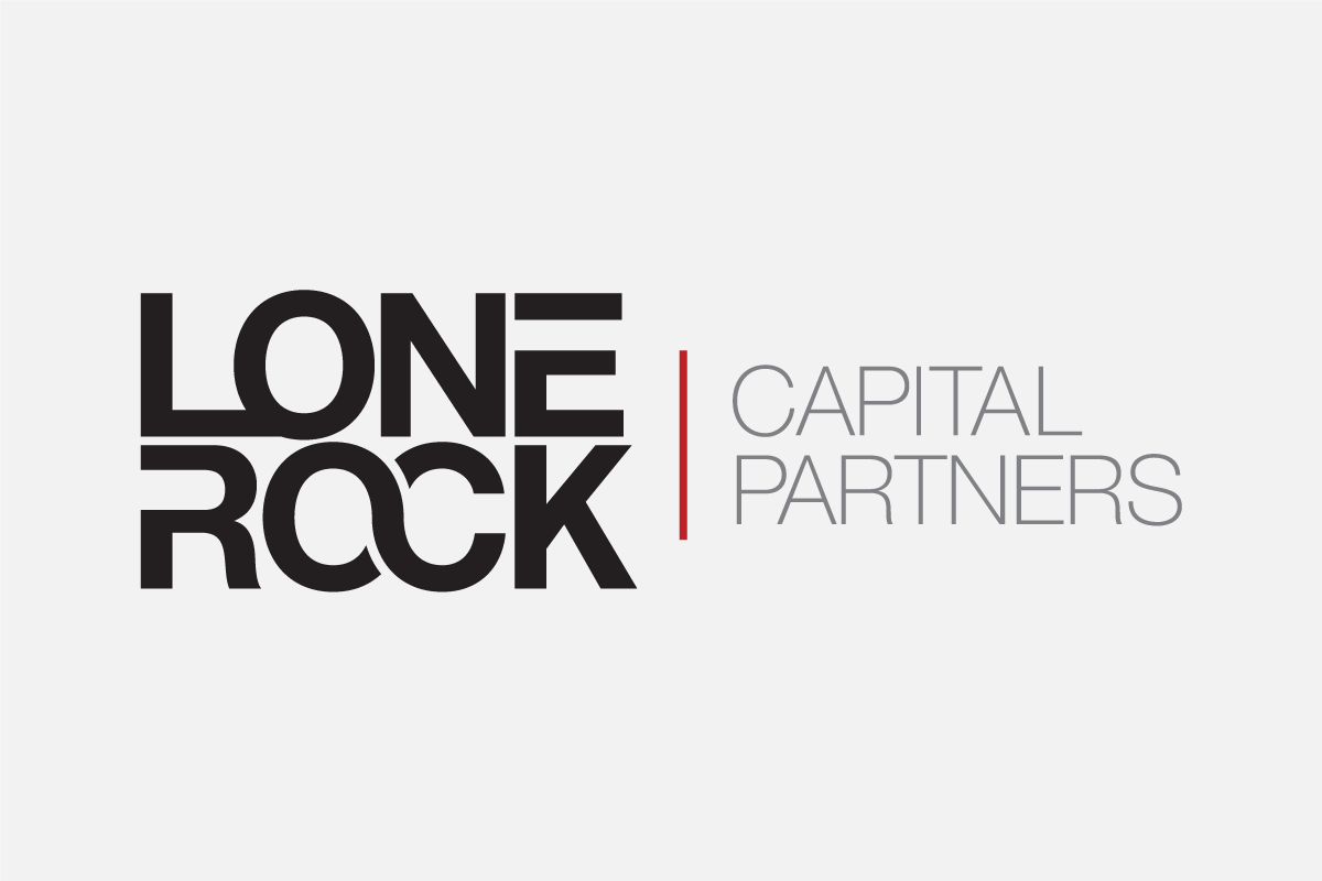 Lone Rock Capital Partners - Logo Design - Black
