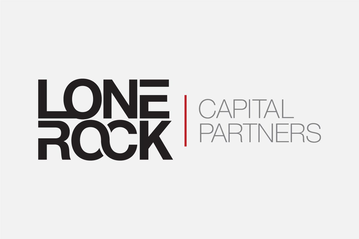 Logo Design for Lone Rock Capital Partners - Black