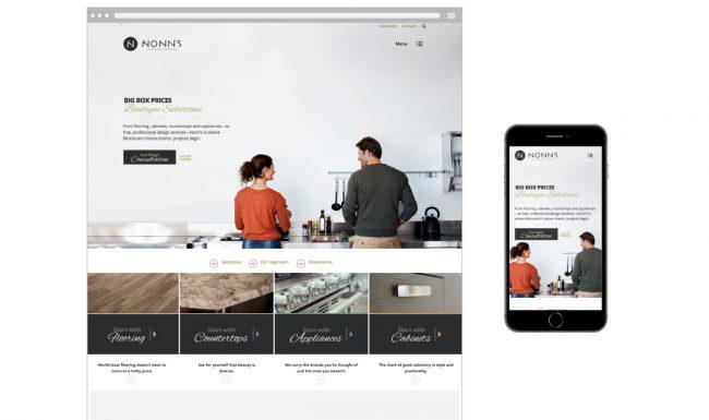 Nonn's Homepage Website Design