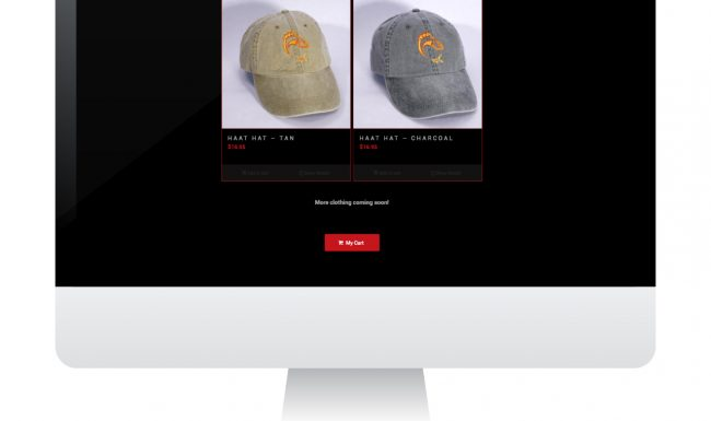 Website Design - Haat Rods