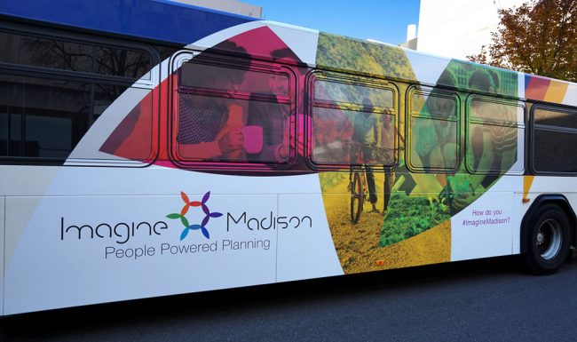 Bus Wrap Graphic Design Imagine Madison 2