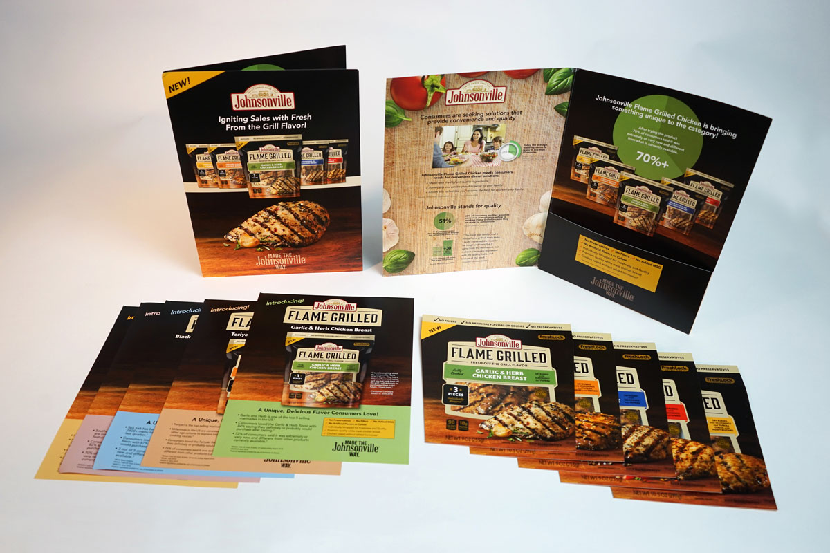 Johnsonville Sales Kit Design