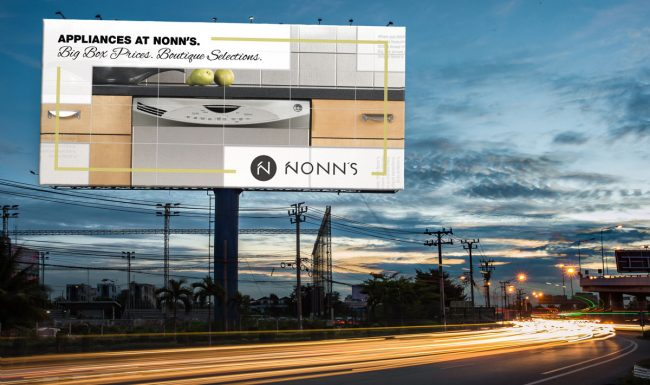 Nonn's 2017 Appliances Outdoor Signage