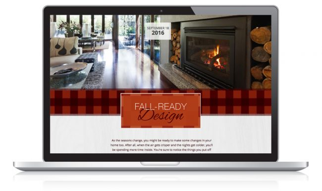 Website Design Nonn's Insiders List - Fall-Ready