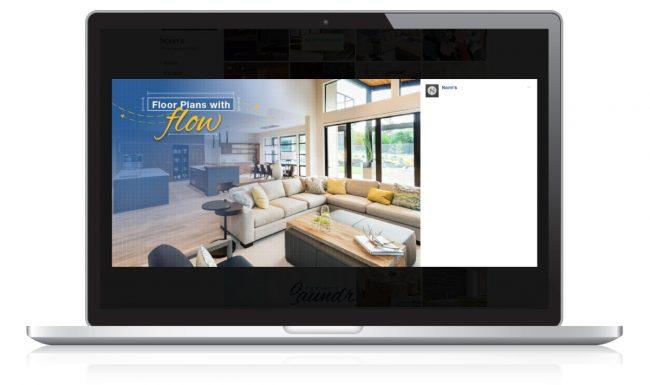 Digital Marketing for Nonn's Insiders List - Floor Plans with Flow