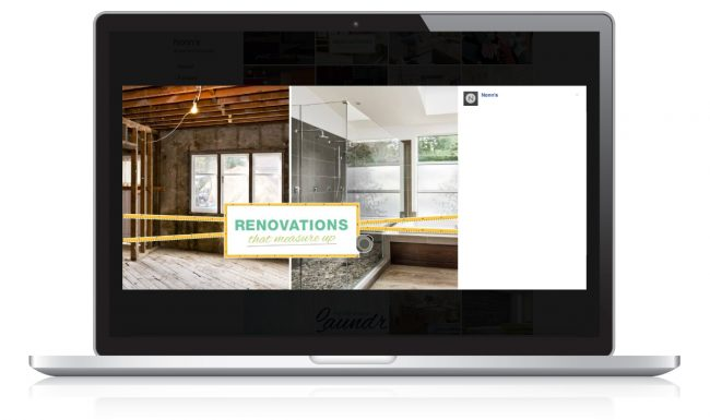 Digital Marketing for Nonn's Insiders List - Renovation