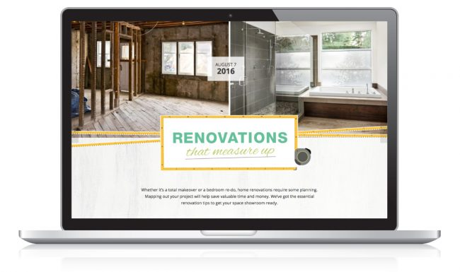 Website Design Nonn's Insiders List - Renovation