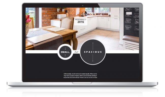Website Design Nonn's Insiders List - Small Spaces