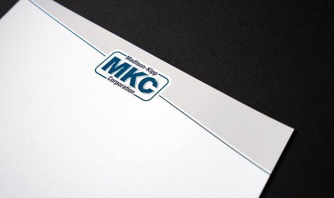 Branding Materials Letterhead Design - Madison-Kipp