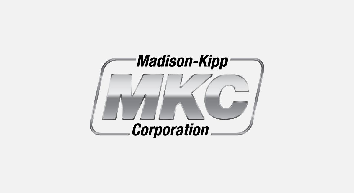 Madison-Kipp Corporation - Metallic Logo Design
