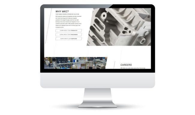 Madison-Kipp Corporation Web Design
