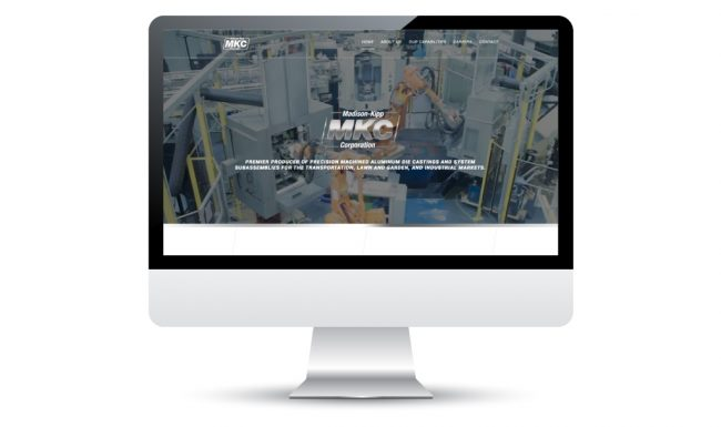 Website Design in Madison, WI for Madison-Kipp Corporation