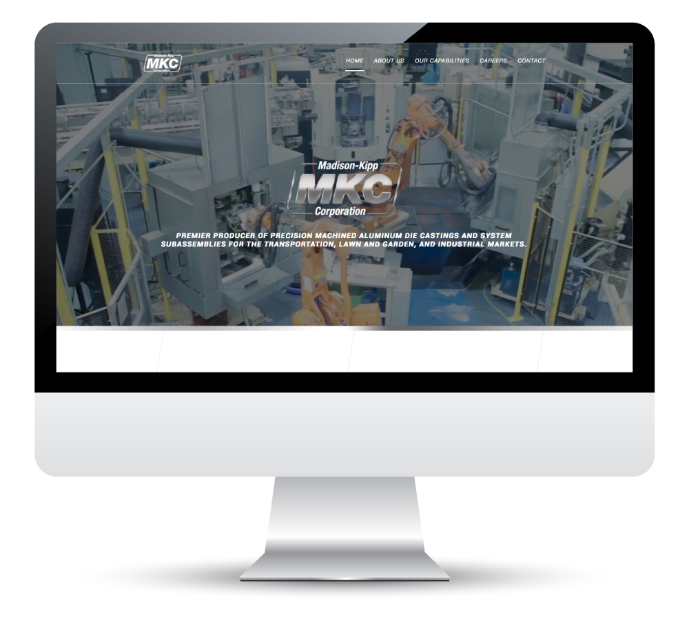Madison-Kipp Corporation Website Design and Development