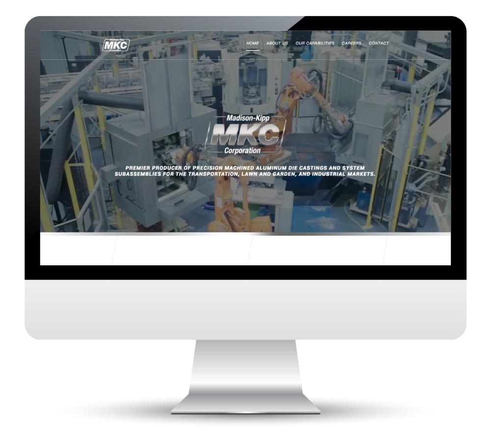 Madison-Kipp Corporation Website Design and Development