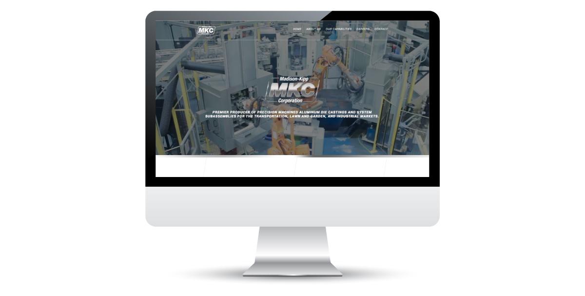 Website Design in Madison, WI for Madison-Kipp Corporation