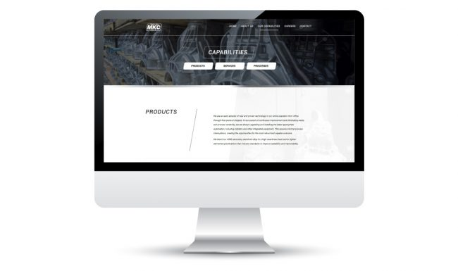 Web Design Madison-Kipp Corporation