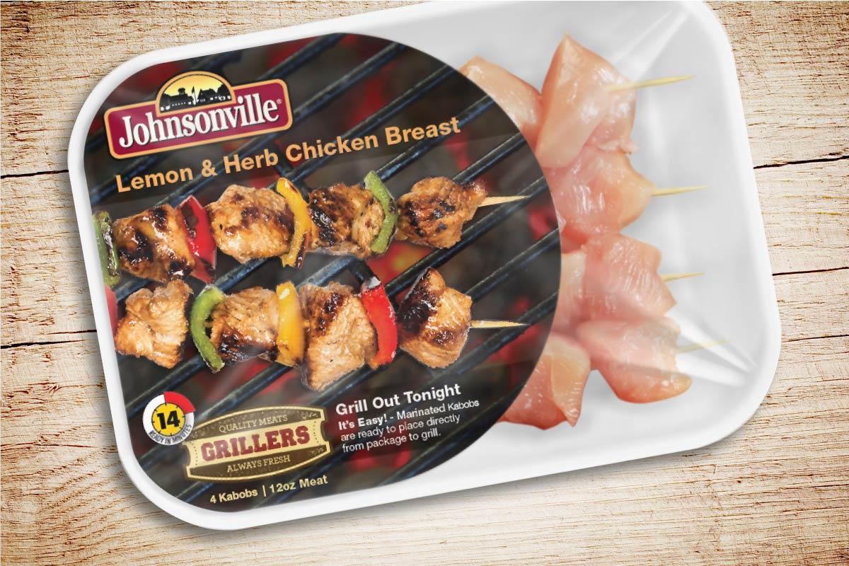 Johnsonville Kabobs Packaging Design