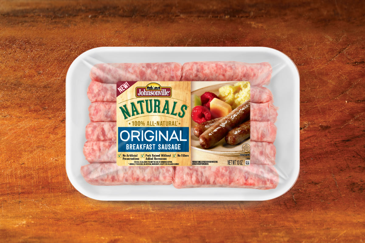 Johnsonville Naturals Breakfast Sausage Packaging