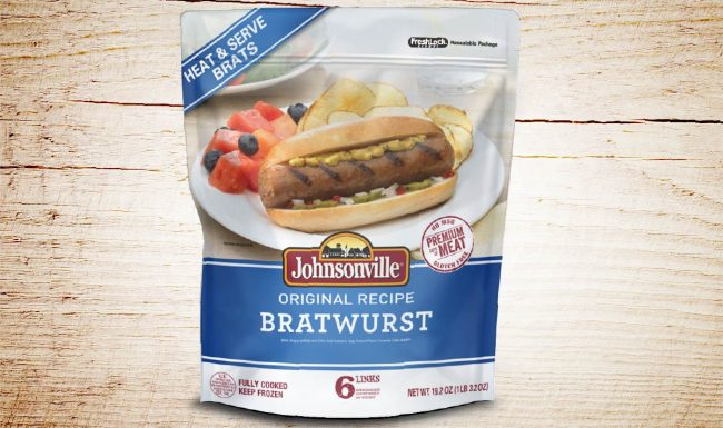 Johnsonville Packaging Design - Original Recipe Bratwurst