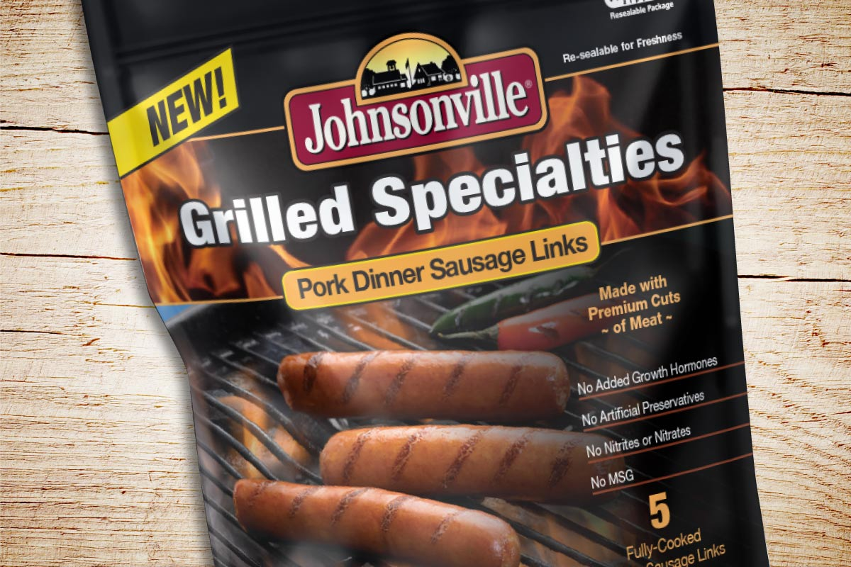 Johnsonville Grilled Specialties Packaging Design