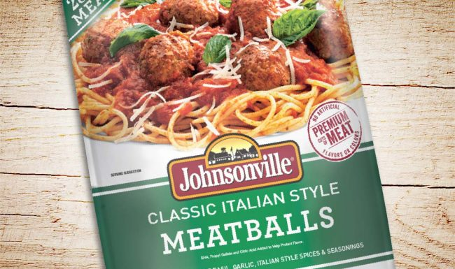 Packaging Design Johnsonville Meatballs