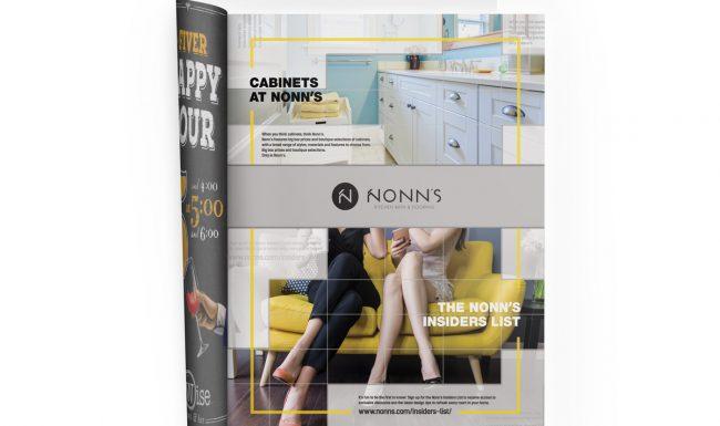 Print Advertising - Nonn's 2017 Cabinets